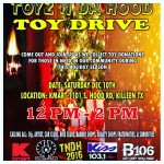 [TEXAS] –  B106 * KISSFM* KMART * USA ALL STARS* TOY DRIVE