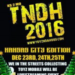 [TNDH KANSAS] 12/23 – 12/24 -12/25 [TOY DRIVE and DELIVERY]