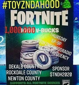[FORTNITE CHRISTMAS] ToyzNdaHood POP UP 5p-9pm Thursdays