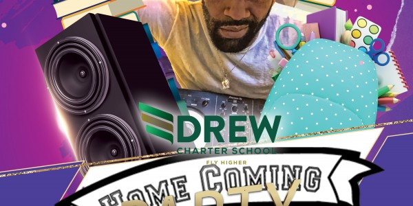 """[DEC18th VIRTUAL PEP RALLY]""""WE ARE DREW"""" CHARTER HOMECOMING[TNDH20 Xmas Edition]"""